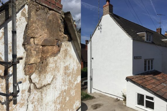 Exterior-Render-Repair-before-and-after-lower-street-stroud-gloucestershire